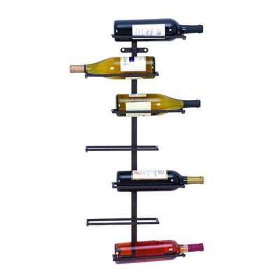Zaniah Mounted Wine Rack - Wayfair