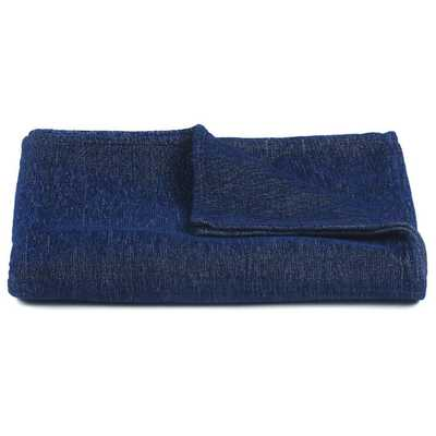 Lulu Handcrafted Throw - Blue - AllModern