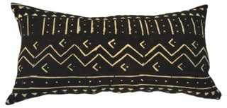 African Mali Mudcloth Body Pillow - One Kings Lane