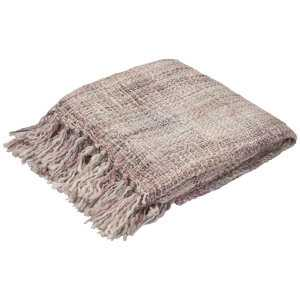 Jaipur Rugs Hamlin Light Gray Throw - Luxe Decor