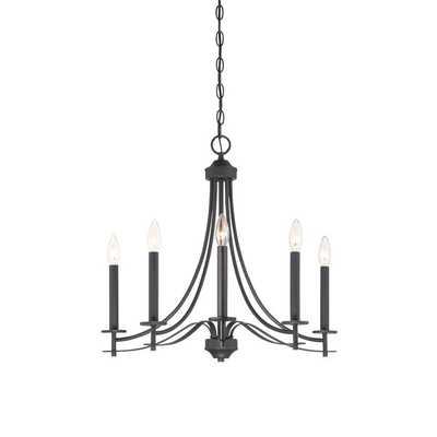 Cassina 5 Light Candle Chandelier - Wayfair