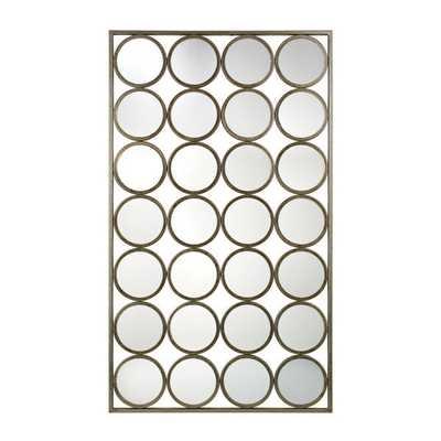 Retro Style Multi-circle Wall Mirror - Overstock