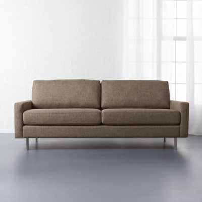 Central sepia sofa - CB2