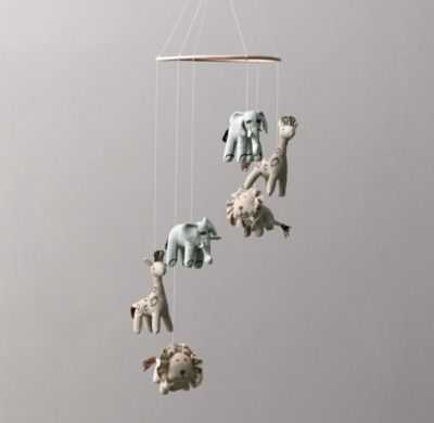 Chambray animal mobile - RH Baby & Child