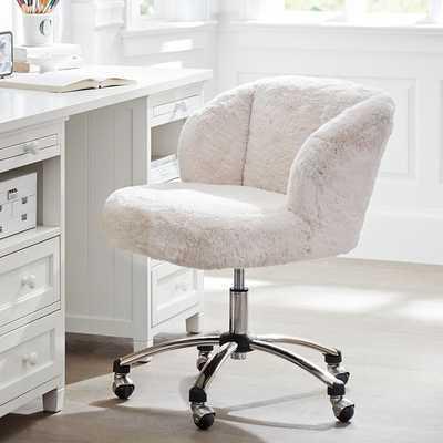 Polar Bear Wingback Desk Chair - Pottery Barn Teen