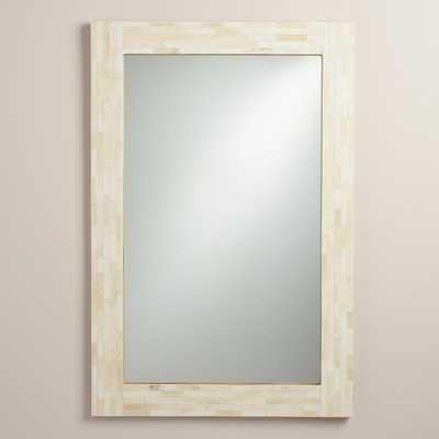 Ivory Bone Mirror - World Market/Cost Plus