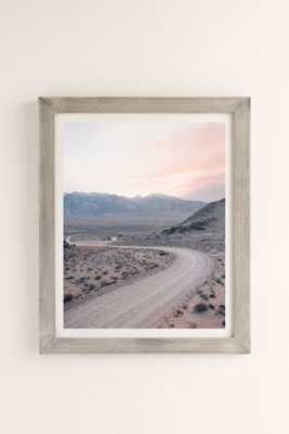 "Morgan Phillips Dusty Road Art Print - 18"" x 24"" - Framed - Urban Outfitters"