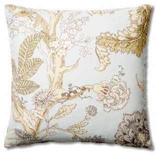 Floral  Pillow - One Kings Lane