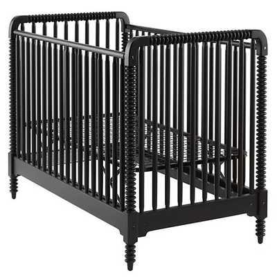 Black Jenny Lind Crib - Land of Nod