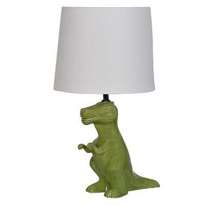 Dinosaur Table Lamp Green (Includes CFL bulb) - Target
