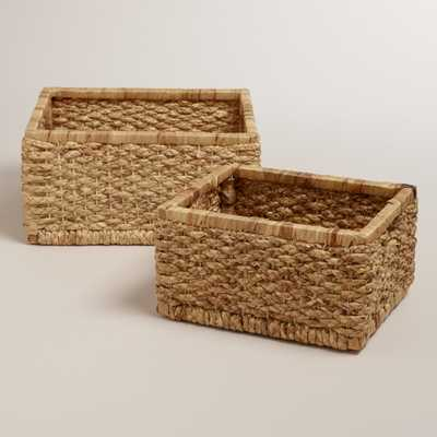 Natural Mitzy Baskets - Large - World Market/Cost Plus