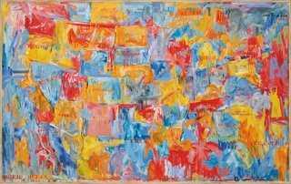 Jasper Johns, Map I - One Kings Lane