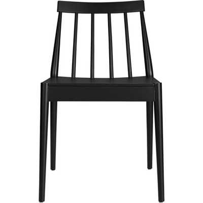 Hemstad black chair - CB2
