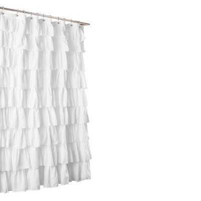 Lush Décor Large Ruffle Shower Curtain - Target