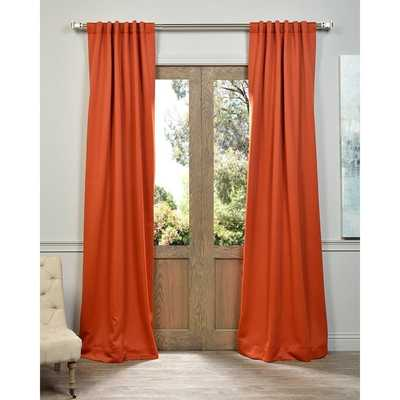 EFF Blaze Blackout Thermal Curtain Panel Pair - Overstock