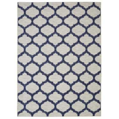 Loop Print Base Glenn Navy Area Rug - 8' x 10' - Wayfair