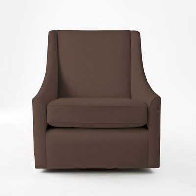 Sweep Swivel Armchair - West Elm