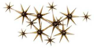 C. Jeré Evening Stars, Brass/Steel - One Kings Lane