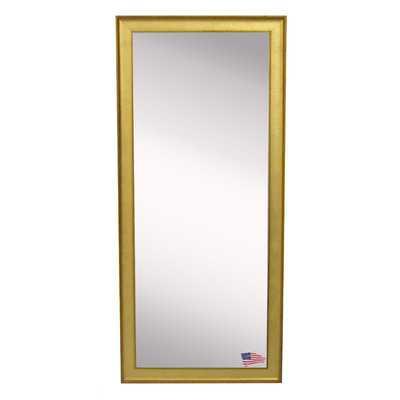 Ava Vintage Gold Tall Mirror - Wayfair