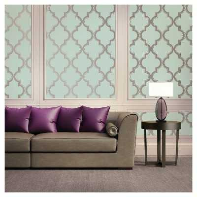 Devine Color Peel and Stick Wallpaper Cable Stitch Pattern - Target