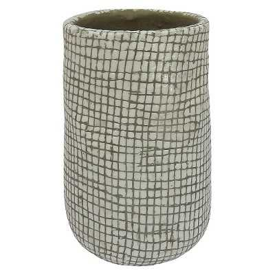 "Small Textured Cement Vase - Thresholdâ""¢ - Target"