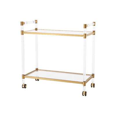 Bronson Serving Cart - Wayfair