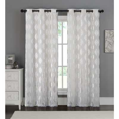 VCNY Sorrento Curtain Panel Pair - Overstock