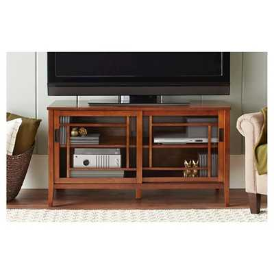 Luther TV Stand - Brown - Target