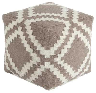 Geometric Pouf - ashleyfurniturehomestore.com