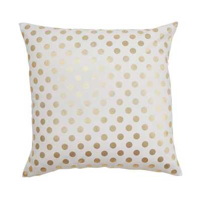 GOLD DOT PILLOW - Caitlin Wilson