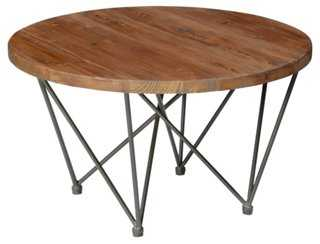 Denise Round Coffee Table - One Kings Lane