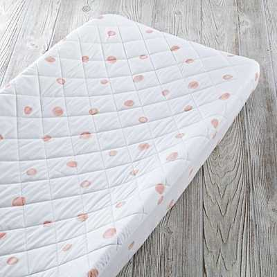 Washed Dot Changing Pad Cover - Land of Nod
