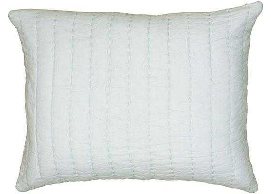 """GRACIE SHAM-KING-20"""" x 36""""-LIGHT BLUE-INSERT NOT INCLUDED - Home Decorators"""