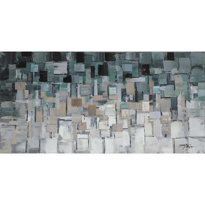 "Segments Wall Décor- 28"" H x 55"" W- Unframed - AllModern"