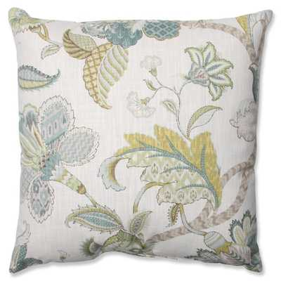Pillow Perfect Finders Keepers Peacock Throw Pillow - 16.5-inch, blue - Overstock