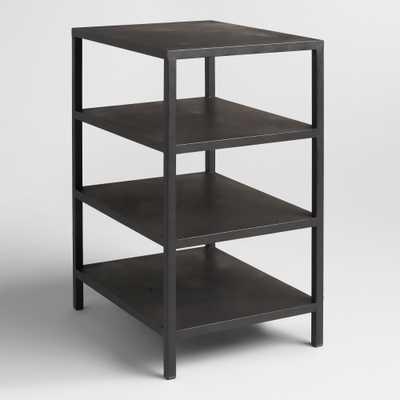 Black 3-Shelf Colton Mix & Match Desk Base - World Market/Cost Plus