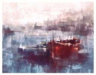 Red and Blue Boats - One Kings Lane