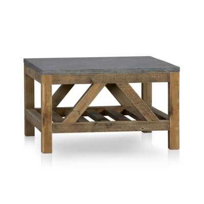 Bluestone Square Coffee Table - Crate and Barrel