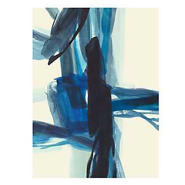 Blue Strap - 43'' x 54'' - Unframed - Z Gallerie