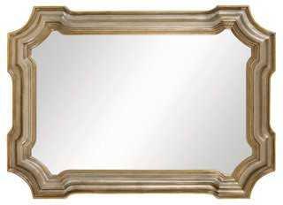 Conthey Wall Mirror, Antiqued Silver - One Kings Lane