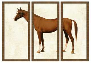 Horse Triptych I - One Kings Lane