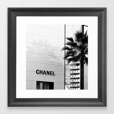 Chanel On Rodeo Drive - framed - Society6