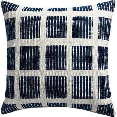 Quad pillow - 20x20 - Down insert - CB2