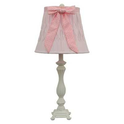 Dotted Bow Table Lamp - Pink - Target