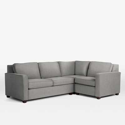 Henry 3-Piece Sectional - Right Facing - West Elm