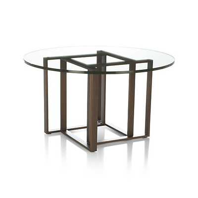 Tory Round Coffee Table - Crate and Barrel