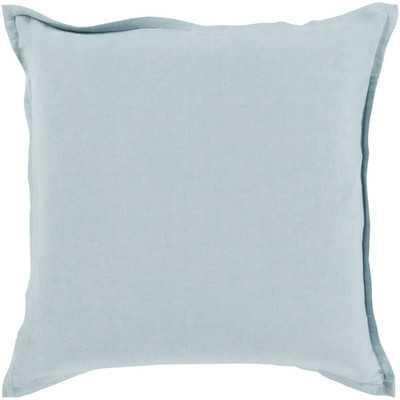 Cotton & Linen Throw Pillow - 18x18- insert included - Wayfair