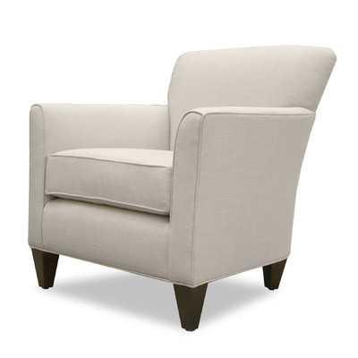 Allessandria Linen Arm Chair - Sand - Wayfair