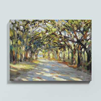 "Southern Oaks Stretched Canvas 36"" x 48""/Unframed - Ballard Designs"