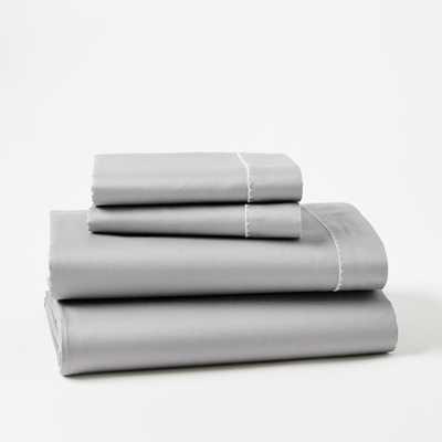 Organic Sateen Sheet Set - West Elm